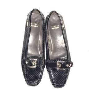Stuart Weitzman patent leather loafers size 8.5
